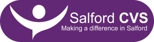 Salford CVS new logo lozenge