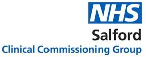 NHS Salford CCG Logo