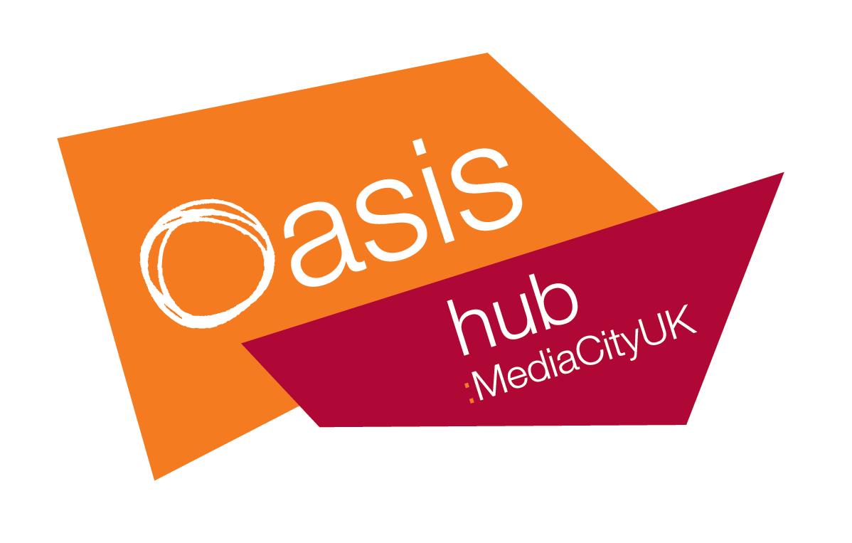Oasis Community Hub: MediaCityUK Logo