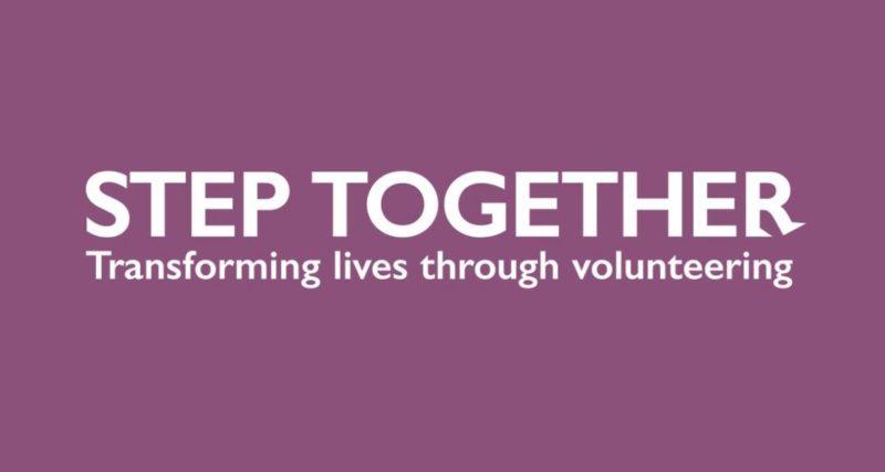 Step Together Volunteering Logo